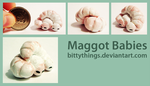 Baby Maggots - SOLD by Bittythings