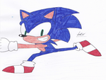Sonic the hedgehog, fastest thing alive! by Speedhog48
