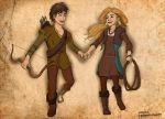 Hiccup and Camicazi (by AvannaK and Glory) by inhonoredglory