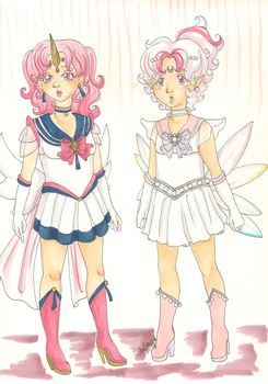 Sailor Moon Sisters by Sybil-chan
