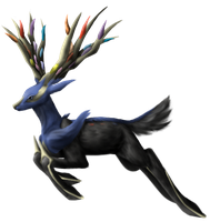 Xerneas by Brookreed