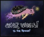 Star Whale zooom by morgan-lamia
