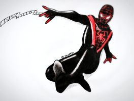 Miles Morales  - Traditional by Novasca