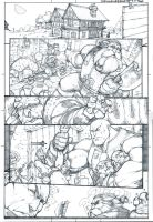 Skullkickers 18 TT DoD page 1 by biroons