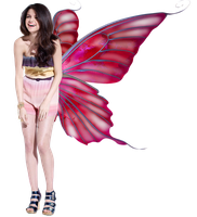 Selena Gomez Butterfly Wings PNG by LiveLoveLaughtPS
