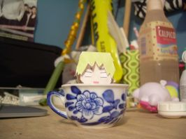 Cup of Iggy by Paper-Lamp