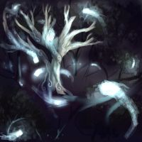Ghost Tree by Fokron
