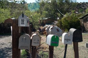 Mailboxes From Madrid, NM by Cadha13