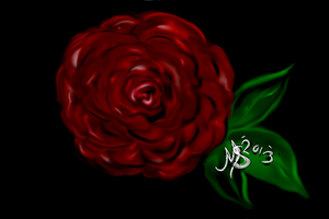 sort of a rose by bigredlal
