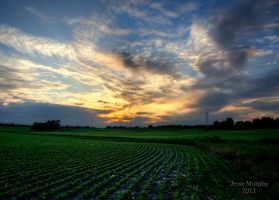 Indiana Sunset 3 by Murphoto