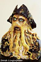 Davy Jones cake part 2 by ohnoono