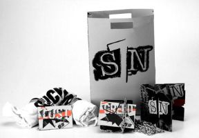 SIN WEAR Product Shot by keir11