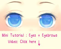 Mini Tutorial -Eyes by Vicle-chan