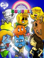 Gumball :The Trouble with Girls: by WaniRamirez