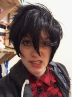 Marshall-Lee Cosplay headshot - no hood by ImHereForTheDrarry