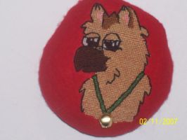 Puppyhawk Cross Stitch by Joce-in-Stitches