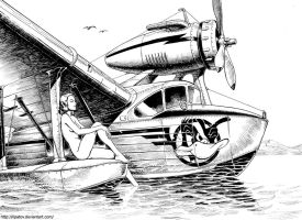 Seaplane by Lipatov