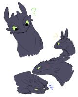 HTTYD - Toothless by JigokuHana