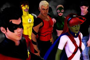 Young Justice by CodenameZeus