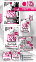 Pinkrock event template by iQdiz