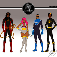 Hip Hop League of Heroes 01 by PayLe