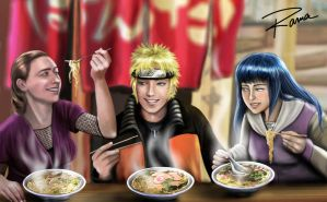 RAMEN  commission by RamaChan
