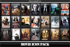 Movie Icon Pack 30 by FirstLine1