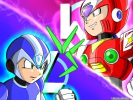 X vs Zero by UrielManX7