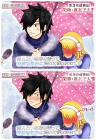 GrayLu ***The snow makes you feel special*** by Leah-la-Gata