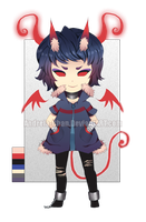 Escaped Fiend Adoptable [CLOSED] by Andreia-Chan
