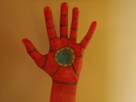 Ironman marker glove by Endeavor4ever
