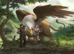 Griffin with Tyra and Gallian by GreenViggen