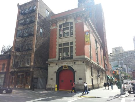 The Ghostbusters Headquarters by newyorkx3