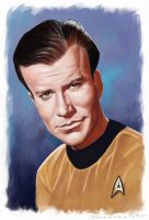 Shatner Redux by markdraws