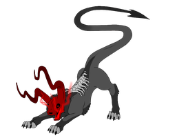 Hellish Canine Critter 1 - SOLD by ShadowInkAdopts