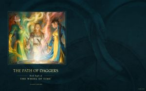The Path of Daggers ebook cover art wallpaper by ArcangHell