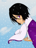Rukia in Wintertime by Satinels