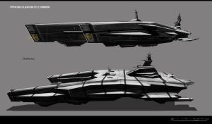 Concept Battle Crusier by MAKS-23