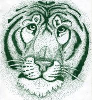 Stippled Tiger by LyricAndMemories