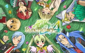 Rune Factory 4 Wallpaper by kaidoumi