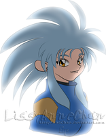Ryoko Colored by LissyAnneChan