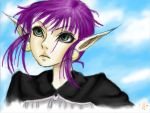 nameless character: coloured by RennHennREN
