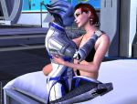 Jane + Liara just a moment by Servala