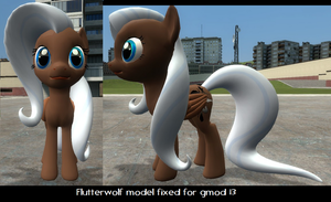 Flutterwolf model fixed [DL] by Commodor-Richter