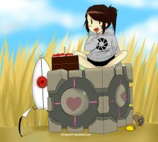 Portal Birthday by Chrissytor