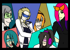 More Six More Agents by Kaiju-Borru-Zetto