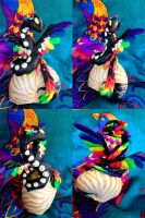 Taevarth/Toothless - Dragon Statue by SonsationalCreations