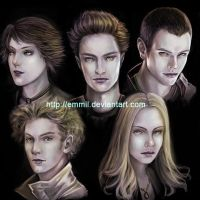 The Cullens by emmil