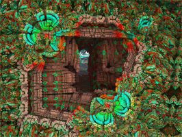 The secret passage-Alice Were's the Rabbit-pong119 by Topas2012