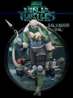 Skratch jam 5th turtle - Salvador by EymBee